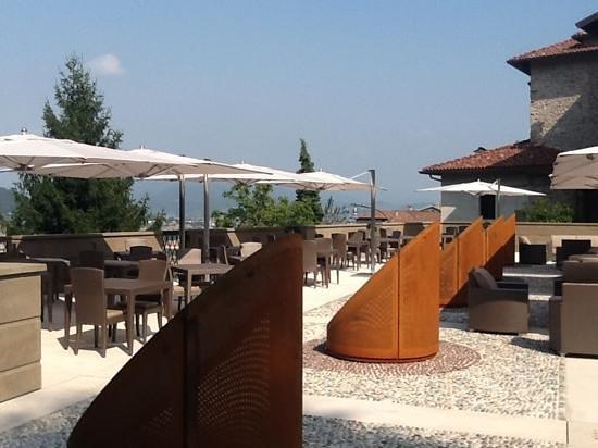 Hotel Relais San Lorenzo : the hotel terrace