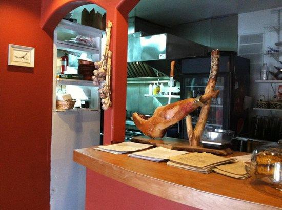 Maple Falls Cafe: Aged Spanish type ham