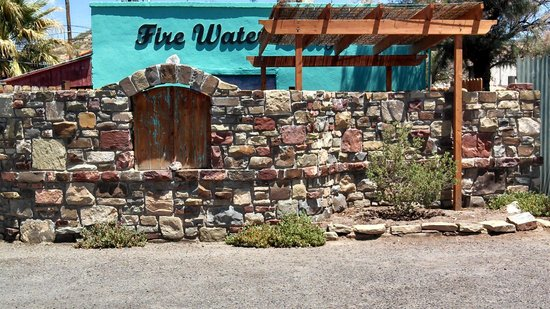 Fire Water Lodge: Front of lodge