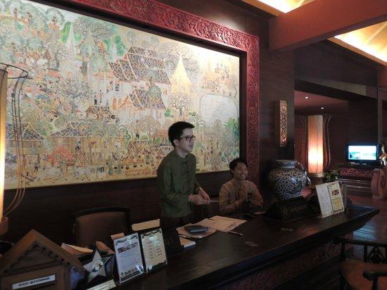 Siripanna Villa Resort & Spa: Rezeption