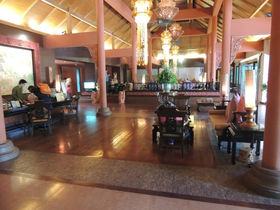 Siripanna Villa Resort & Spa: Hotellobby