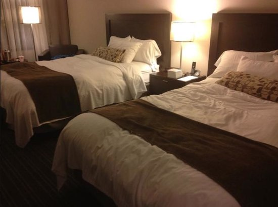 Toronto Airport West Hotel: 2 double beds