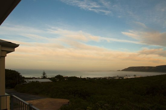 Sunrise from FrancolinHof over Hermanus