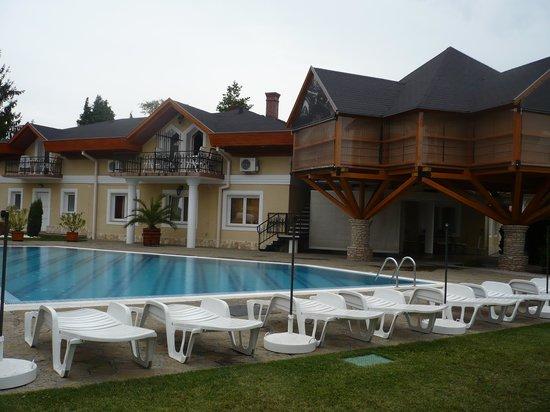 Villa Plattensee: Piscina 2
