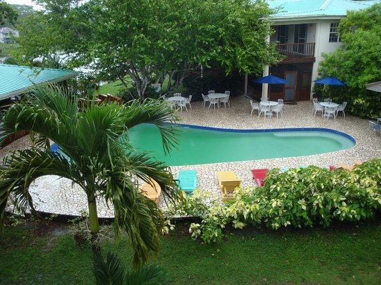 Black Orchid Resort: looking out of our room