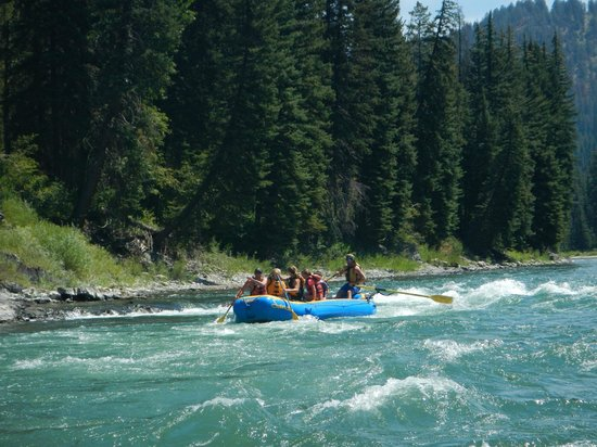 Sands Whitewater and Scenic River Trips - Day Trips: On the River