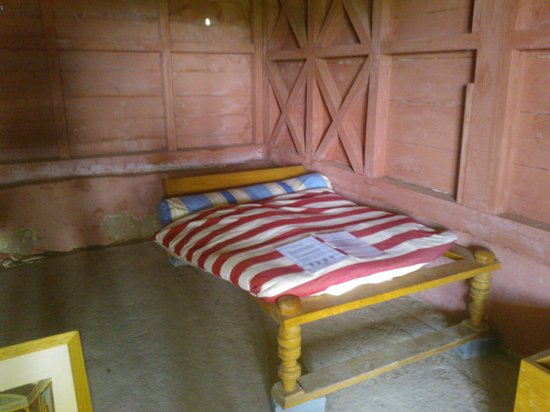 Wroxeter Roman City: Reconstruction of a bedroom in the town house