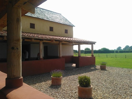 Wroxeter Roman City: Reconstructed Roman Town House