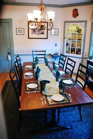 Aysgarth Station Bed and Breakfast: Comfortable dining room with delicious multi-course breakfasts.