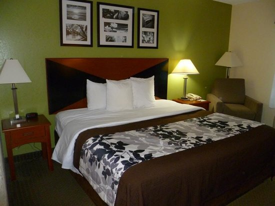 Sleep Inn Emporia: Room 200- Sleep Inn Hotel, Emporia,VA