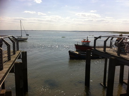 The Boatyard Restaurant : View from deck
