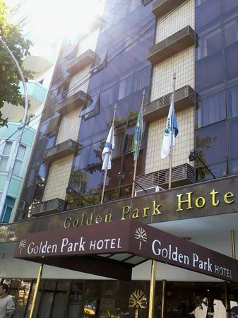 Golden Park Hotel: FAIXADA DO HOTEL