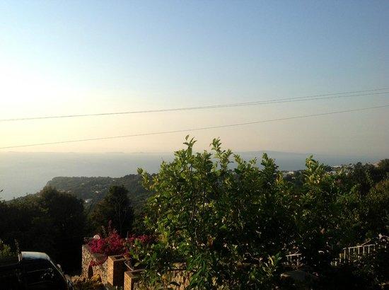 Alle Ginestre Capri Bed & Breakfast: Vista