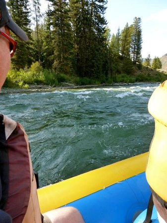 Sands Whitewater and Scenic River Trips - Day Trips: A view from our raft