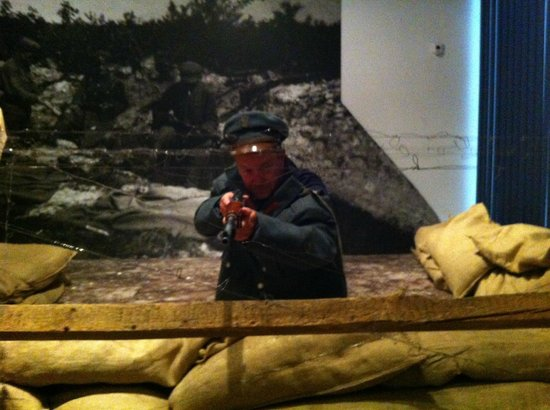 'Playing war' at the National Museum