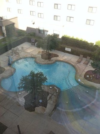 Residence Inn San Antonio Six FlagsR at The RIM: view of pool from 5th floor