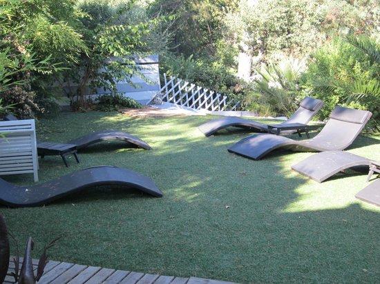 Villa Heliotropes : la terrasse supérieure