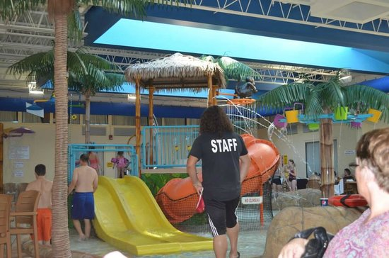 Quality Inn & Suites Palm Island Indoor Waterpark: A view of the indoor waterpark