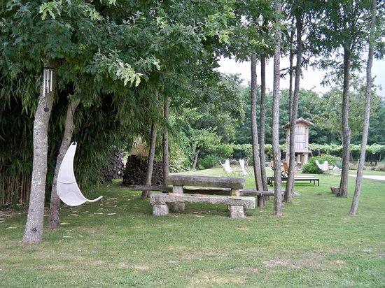 Os Lambrans: jardin