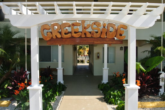 Creekside Inn Islamorada: Entrance