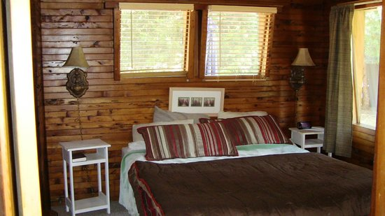 Sierra Sky Lodge : Master with king bed