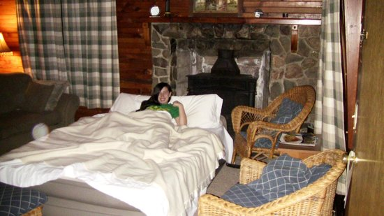 Sierra Sky Lodge : Nice queen air bed for an extra guest