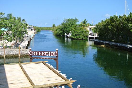 Creekside Inn Islamorada: Canal View