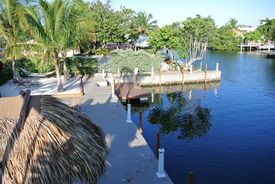Creekside Inn Islamorada: Floating Dock