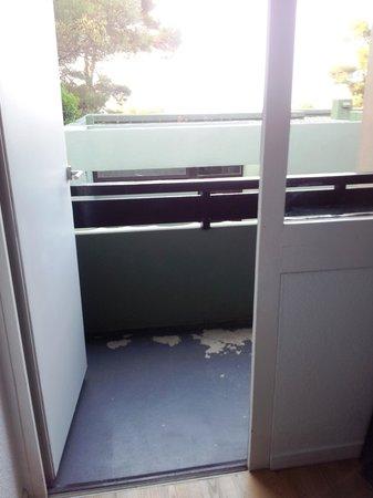 Belambra Clubs - Les Criques : balcon de la chambre principale