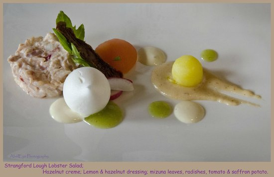 The Boat House Restaurant: Lobster dish