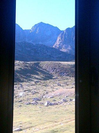 Hotel Cims : Vue de la chambre, ce fut très agréable de se réveiller avec une vue pareille !