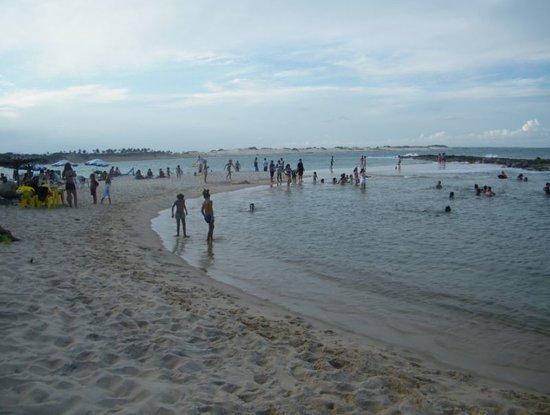 Tibau do Sul Beach : Praia de Tibau do Sul