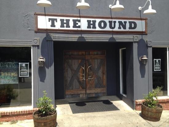 Best Bison Burger Review Of The Hound Auburn Al Tripadvisor