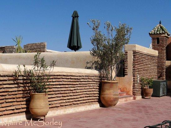 Riad Dar Sbihi: Roof terrace
