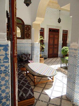 Riad Dar Sbihi: Courtyard