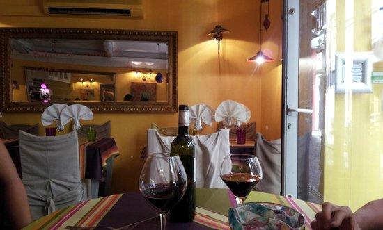 Restaurant Aubergine : interno