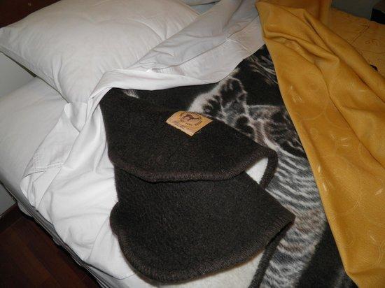 Antawasi Hotel: cobertor de alpaca