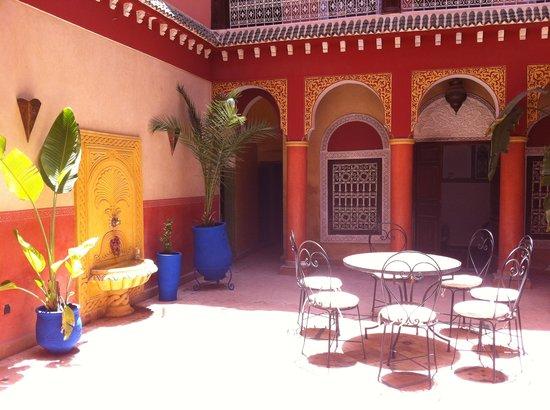 patio del riad Naya