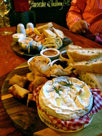 The Antelope Inn: Starter Platters