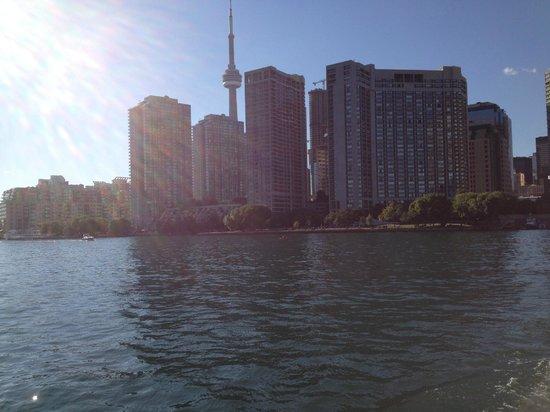 Toronto Islands Ferries: Toronto Skyline