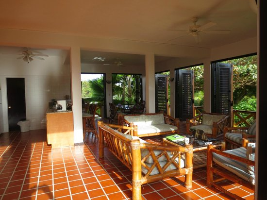 """Anacaona Boutique Hotel: Anacaona 3 BR unit - """"The Great Room"""" - feel the breeze."""