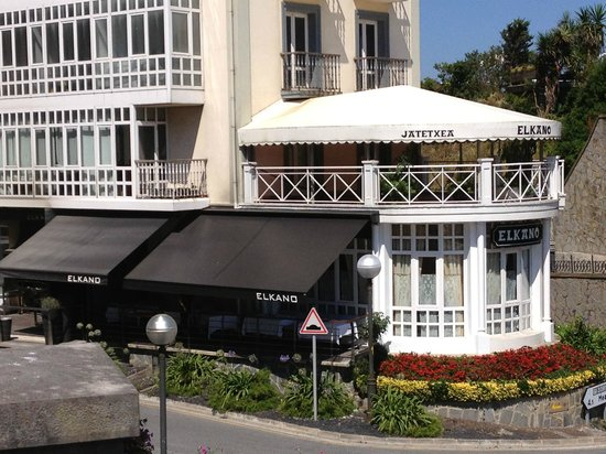 Restaurante Elkano: restaurant