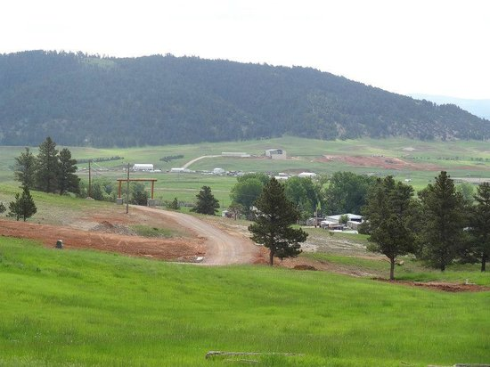 Bearlodge Mountain Resort: view from the cabin