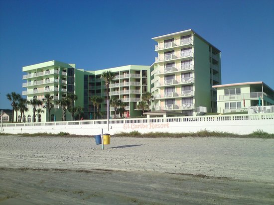 El Caribe Resort and Conference Center: View from the beach