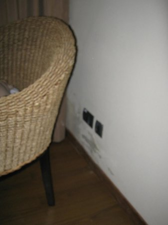 إستانكيا ديل كارمن: Umidade na parede