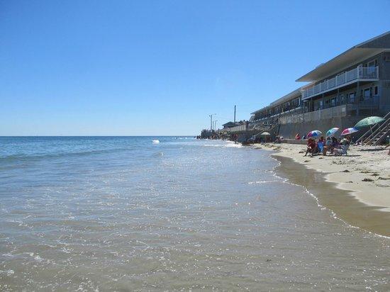 Wells Beach: High tide
