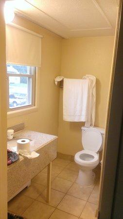 Travelodge South Burlington: Bathroom 3