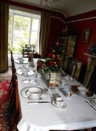 Plas Gwyn B&B & Cottage: Breakfast room
