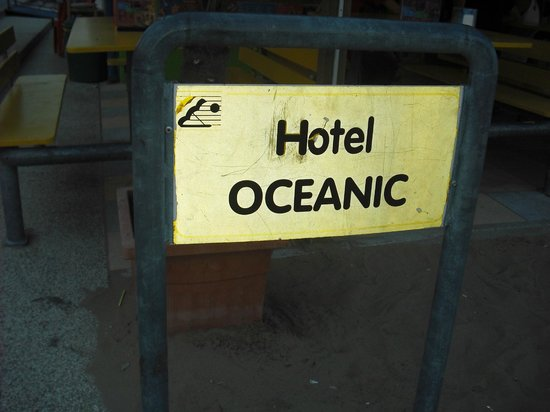 Hotel Oceanic: spiaggia