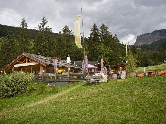 Baita Pauli Hütte : La baita dall'esterno